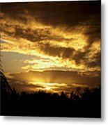 Early Morning Sunrise Metal Print