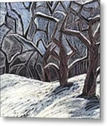 Early Snow Metal Print by Grace Keown