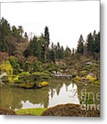 Early Spring In The Garden Metal Print