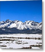 Early Spring In The Sawtooth Metal Print