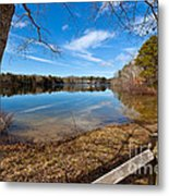 Early Spring On Long Pond Metal Print