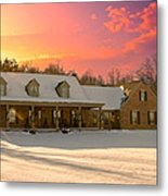 Early Winter Morning Metal Print