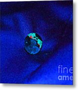 Earth Alone Metal Print
