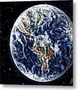 Earth Beauty Original Acrylic Painting Metal Print