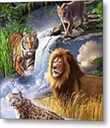 Earth Day 2013 Poster Metal Print