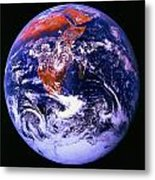 Earth From Space Centered On East Africa Metal Print