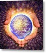 Earth Healing Metal Print