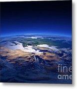Earth - Mediterranean Countries Metal Print by Johan Swanepoel