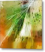 Earth Silk Metal Print