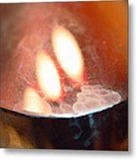 Earth Tone Art - Warmth By Sharon Cummings Metal Print by Sharon Cummings