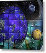 Earthday 2014- The View From On High Metal Print
