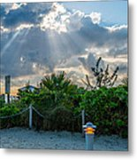 Earthly Light And Heavenly Light  Metal Print by Ian Monk