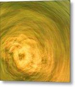 Earthly Whirlpool Metal Print