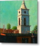 Earthquake Survivor, Peru Impression Metal Print