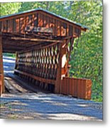 Easley Covered Bridge Metal Print
