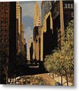 East 42nd Street Metal Print
