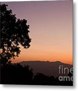 East Africa Sunrise Metal Print