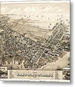 East Boston 1879 Metal Print