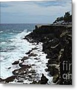 East Coast Shore Line Metal Print