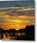 East Coast Sunset Metal Print