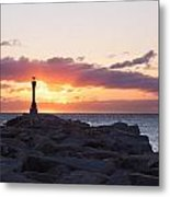 East End Cape Cod Canal  Metal Print