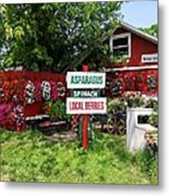 East End Farmstand Metal Print