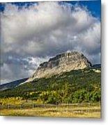 East Flattop Mountain Metal Print