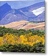 East Glacier Fall Metal Print
