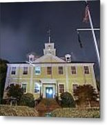 East Greenwich Town House At Night Metal Print