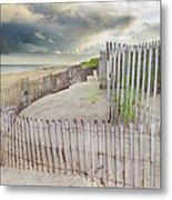 East Hampton Beach, Long Island, New Metal Print