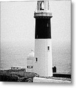 East Light Lighthouse Altacarry Altacorry Head Rathlin Island  Metal Print