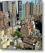 East Midtown Aerial Metal Print