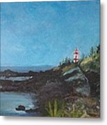 East Quoddy Head Lighthouse Metal Print