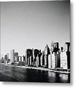 East River New York Metal Print