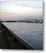 East River Vista 1 - Nyc Metal Print