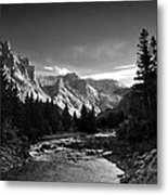 East Rosebud Canyon 7 Metal Print by Roger Snyder