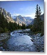 East Rosebud Canyon 8 Metal Print by Roger Snyder