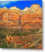 East Temple Metal Print