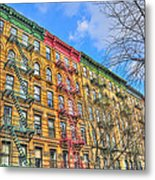 East Village Buildings On East Fourth Street And Bowery Metal Print