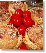 Easter And  Flaounes Metal Print