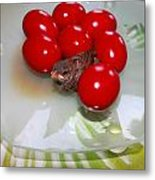 Easter And Sparrow Metal Print