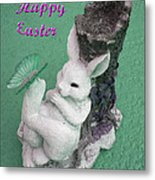 Easter Card 1 Metal Print