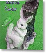 Easter Card 2 Metal Print