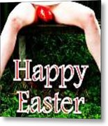 Easter Card 3 Metal Print