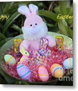 Easter Card Metal Print