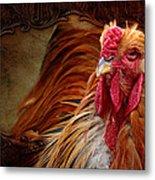 Easter Cock Metal Print
