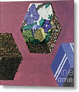 Easter Cubes - Painting Metal Print