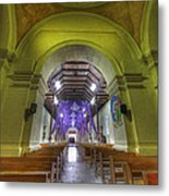 Easter Decorations At An Old Church Metal Print