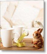 Easter Drinks Metal Print