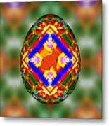 Easter Egg 3d Metal Print